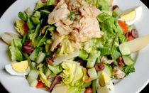 Рецепты диетических салатов с тунцом